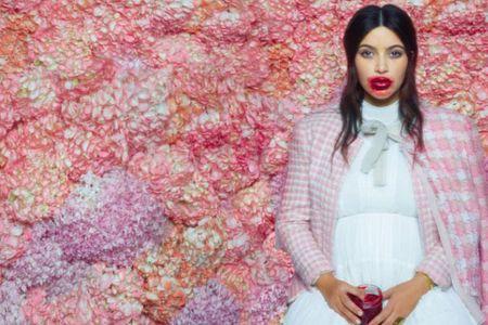 Kim Kardashian in bizarre Karl Lagerfeld photo shoot