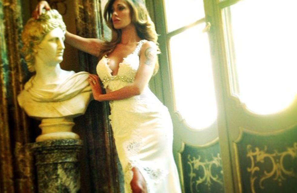 Belén sceglie l'abito da sposa