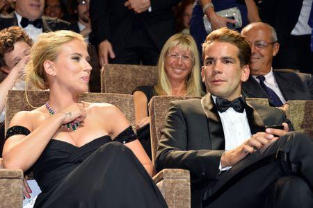 Scarlett Johansson e il compagno