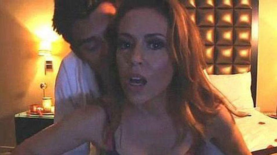 """Alyssa Milano y su embrujado vídeo """"porno"""""""
