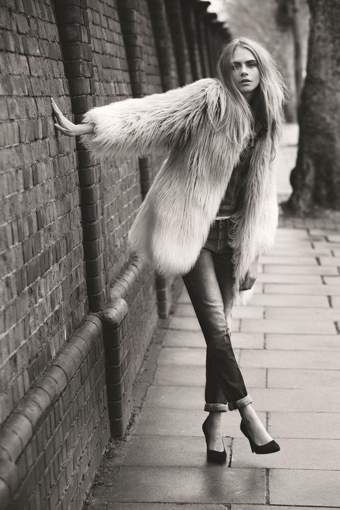 Cara Delevingne pour Pepe Jeans, Campagne Automne-Hiver 2013-2014