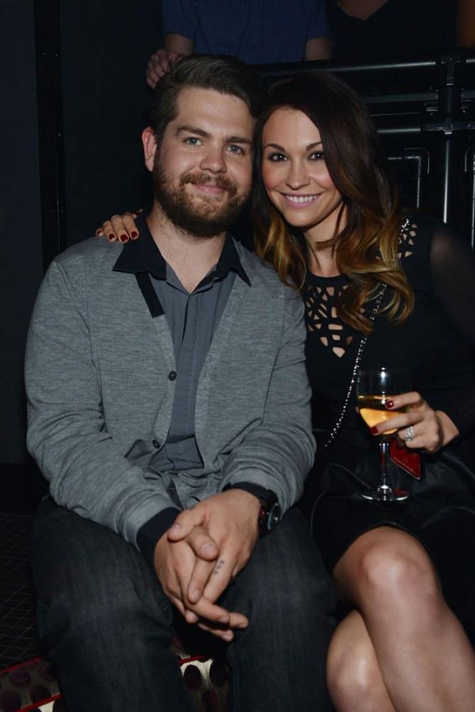 Lisa and Jack Osbourne