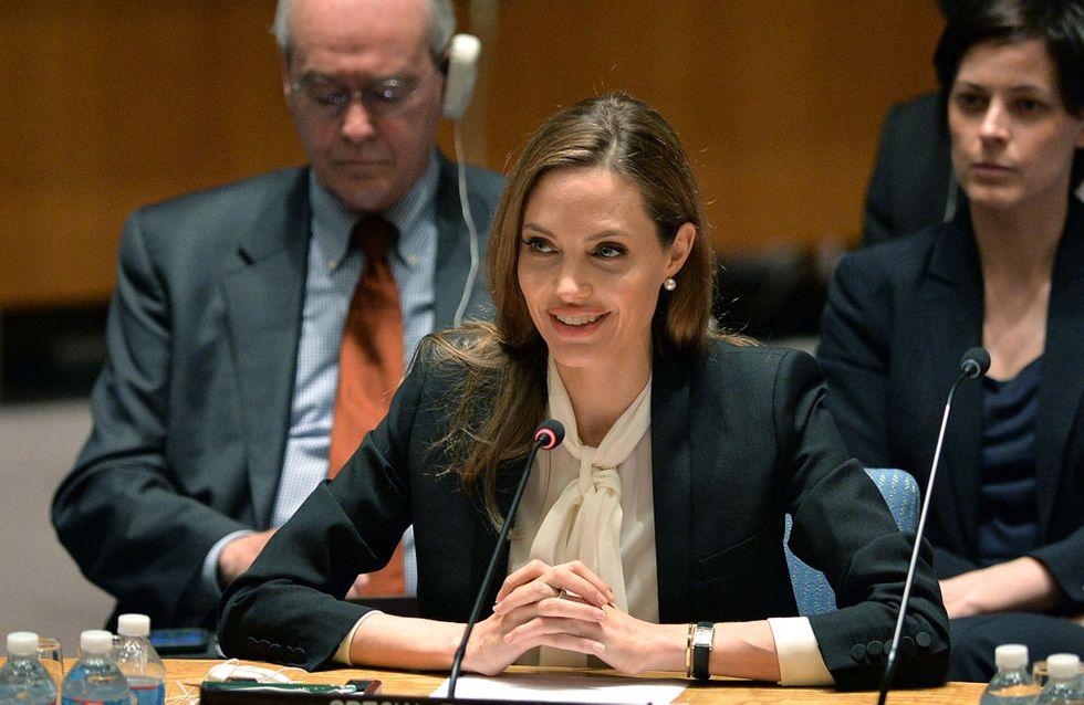 Angelina Jolie recibirá un Oscar honorífico por su labor humanitaria