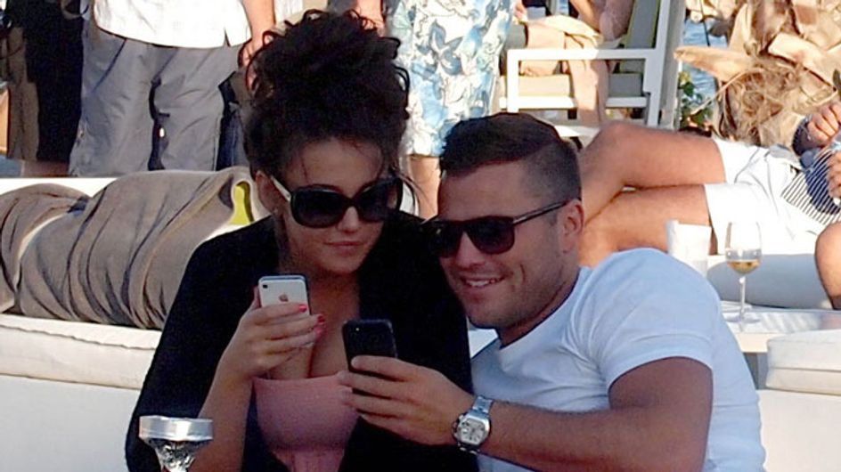Michelle Keegan and Mark Wright engaged