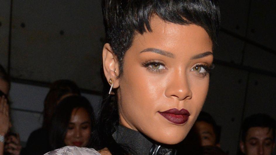 Rihanna debuts New York Fashion Week mullet