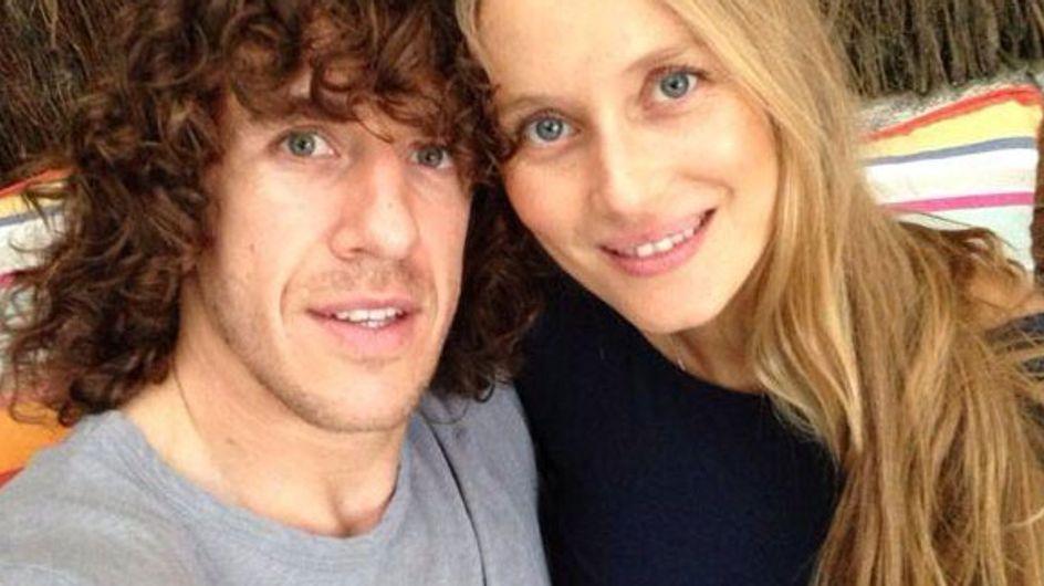 Carles Puyol y Vanesa Lorenzo esperan su primer hijo para finales de enero