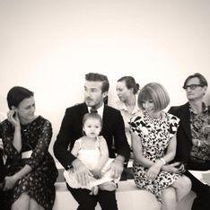 Victoria Beckham : Harper, star de son défilé !