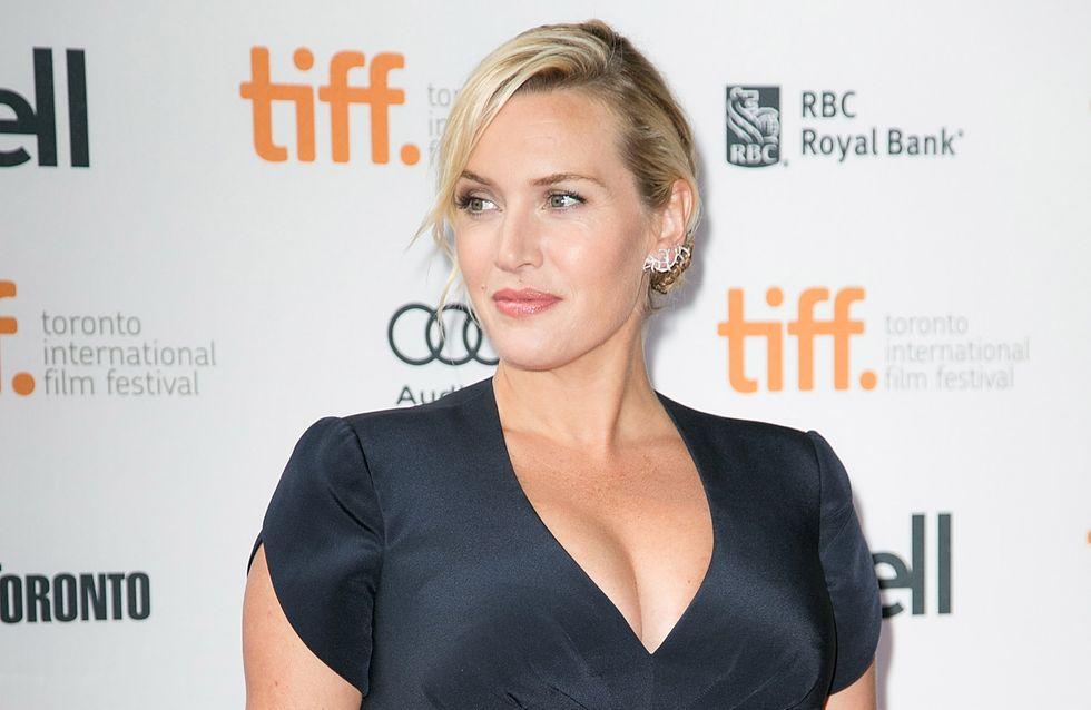 Kate Winslet : Elle affiche son ventre rond sur le tapis rouge (Photo)
