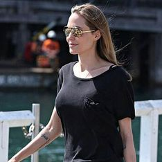 Angelina Jolie shows off new Arabic tattoo