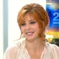 Mylène Farmer habillée en Gaultier sur le journal de France 2