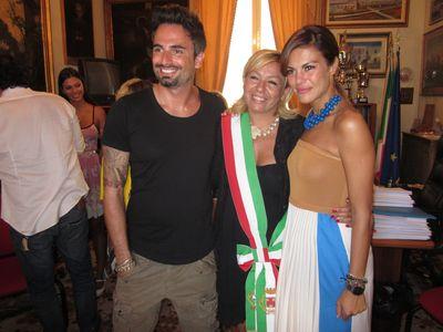 Bianca Guaccero e Dario Acocella