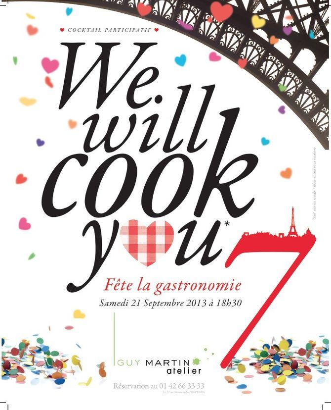 We will cook you, fête de la gastronomie