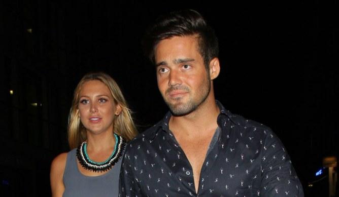 Spencer Matthews and Stephanie Pratt