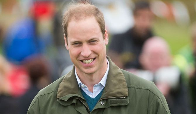 Le Prince William, Angleterre, août 2013
