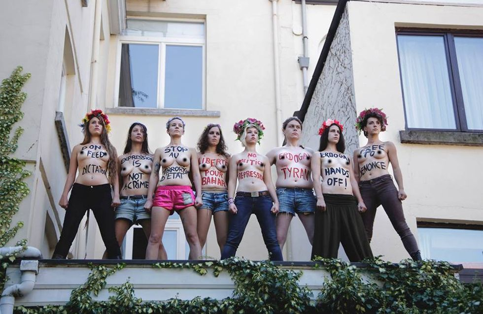 Femen : Dissolution de la branche belge