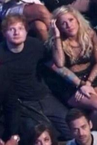 Ed Sheeran and Ellie Goulding at the VMAs