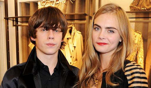 Cara Delevingne and Jake Bugg