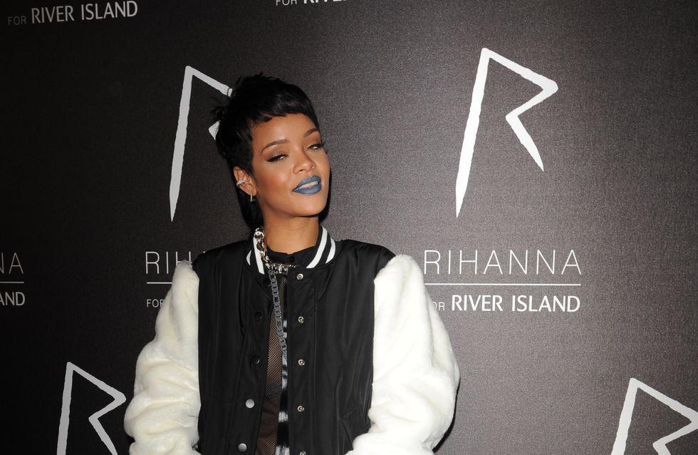 Doit-on adopter le lipstick bleu de Rihanna ?