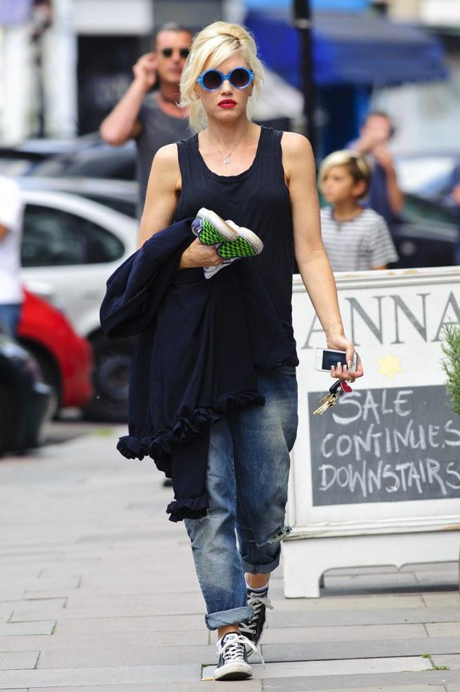 Gwen Stefani en août 2013