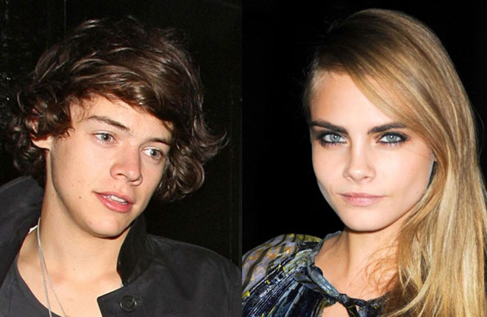 Harry Styles professes his love for Cara Delevingne