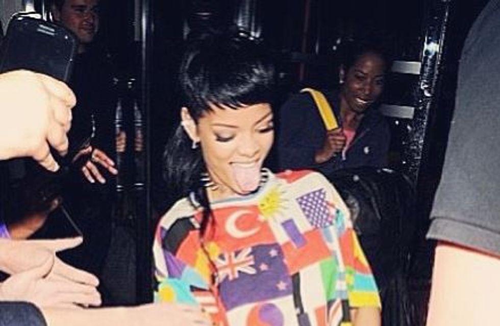 Rihanna, très fière de sa pochette pénis