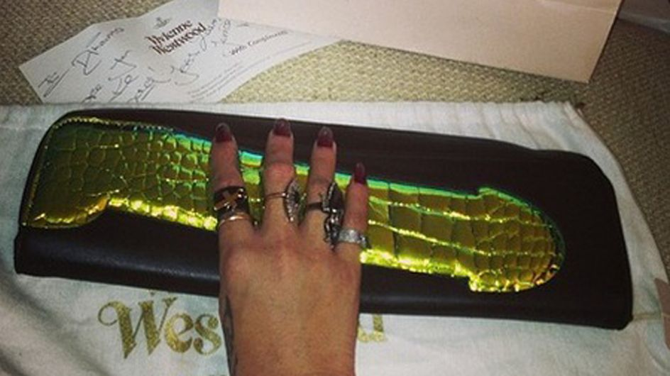 Rihanna's penis clutch bag - yes you read that right!