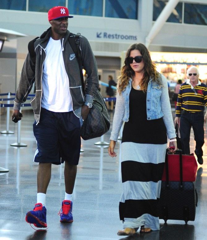 Khloé et son mari Lamar