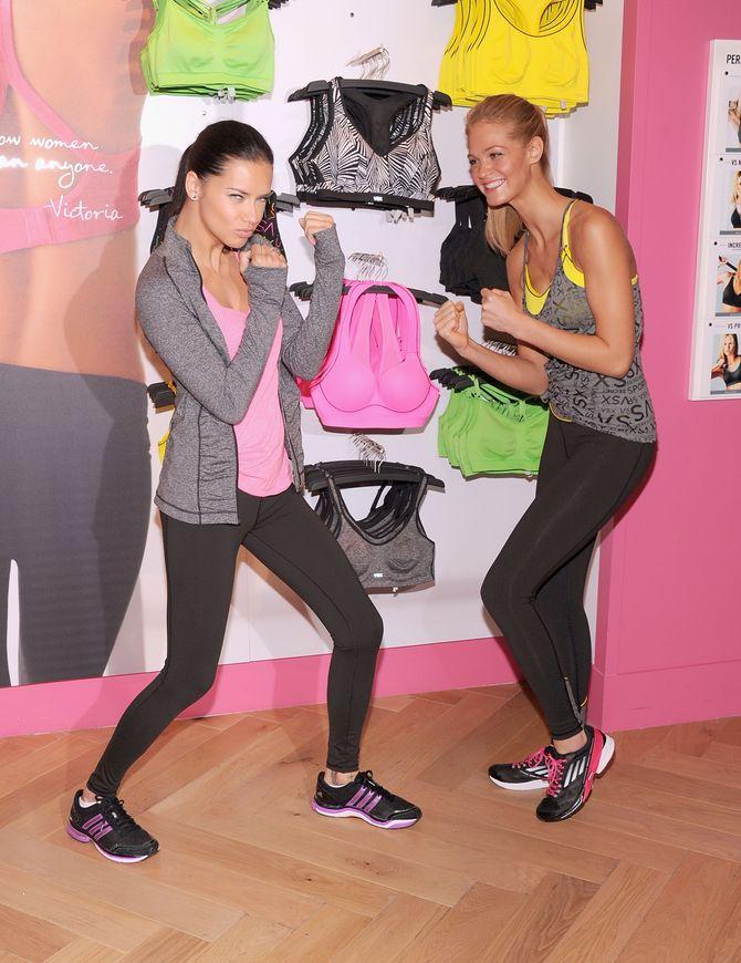 Adriana Lima & Erin Heatherton