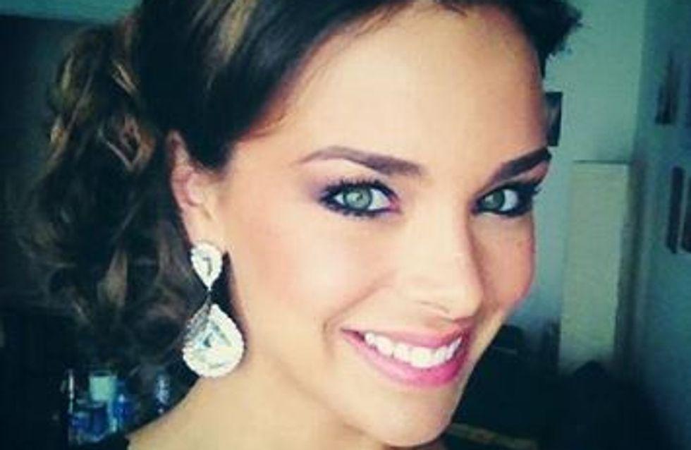 Marine Lorphelin, bien placée pour le concours Miss Monde