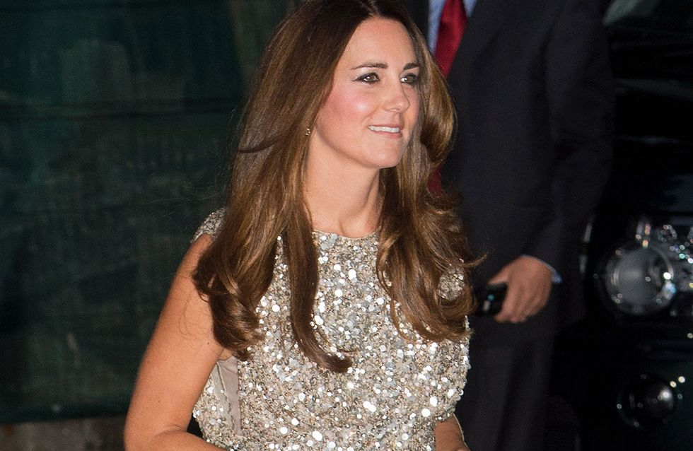 Kate Middleton : Scintillante pour sa première sortie officielle post-accouchement (photos)