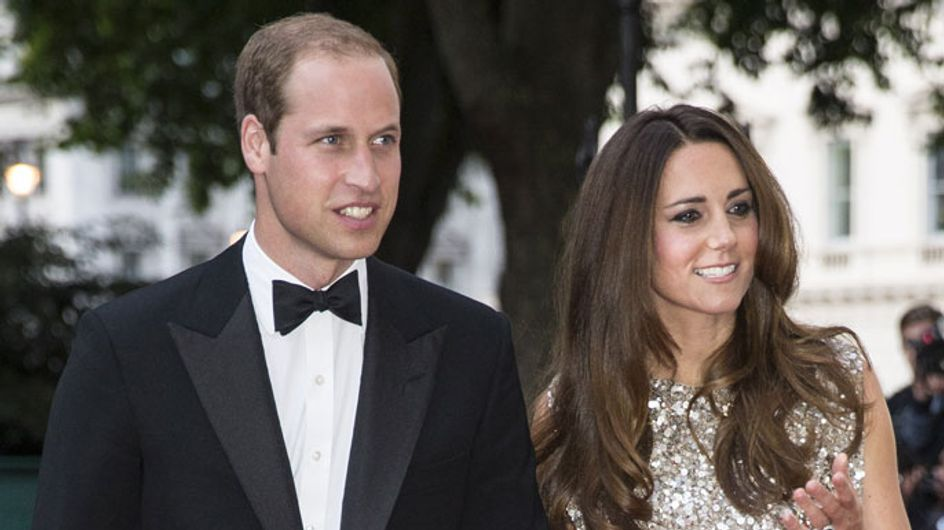 Kate Middleton dazzles on red carpet as Prince William leaves the RAF