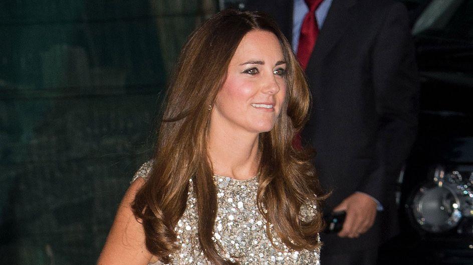 Kate,1°serata di gala da mamma: foto