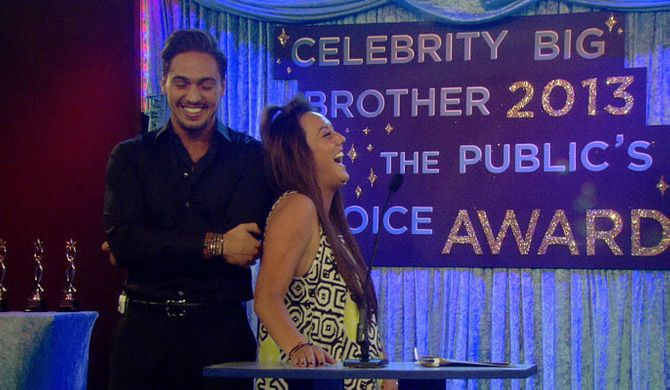 Mario Falcone and Charlotte Crosby