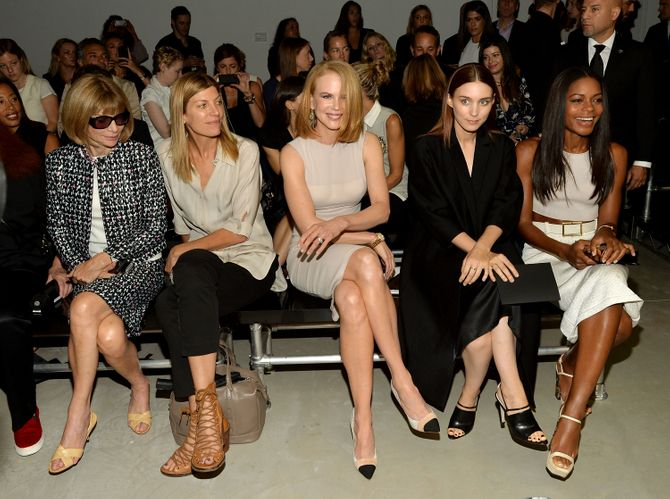 Nicole Kidman auf der New York Fashion Week 2013