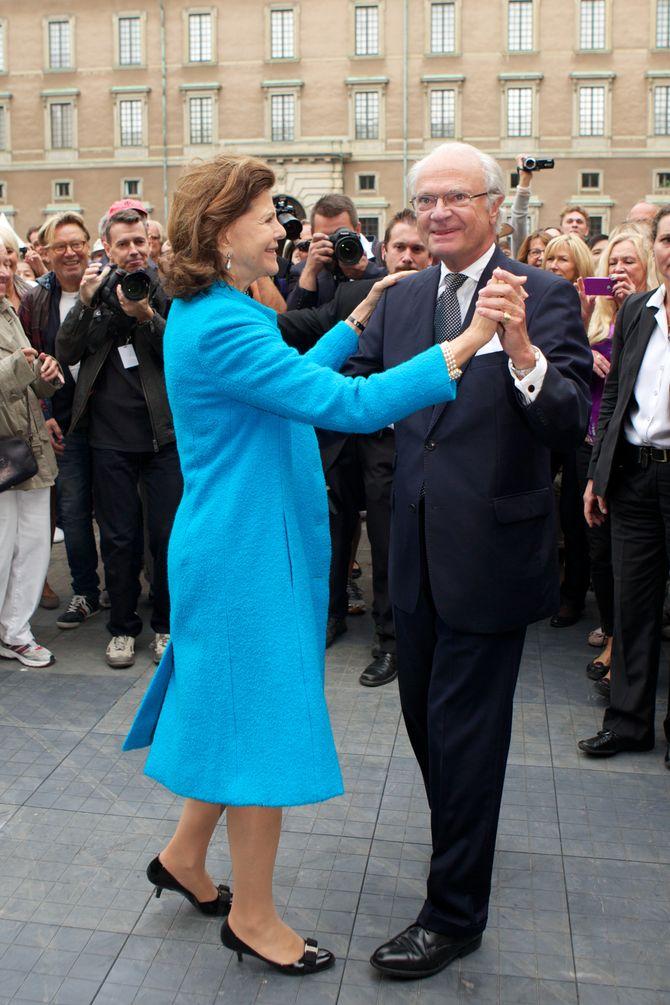 König Carl Gustaf & Königin Silvia