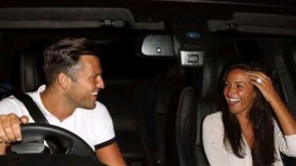 First look: Michelle Keegan's huge engagement ring