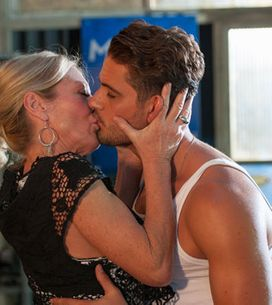 Hollyoaks 25/09 - Frankie and Ziggy kiss!