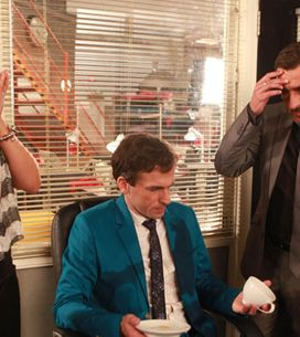 Coronation Street 25/09 - Peter and Michelle come to blows
