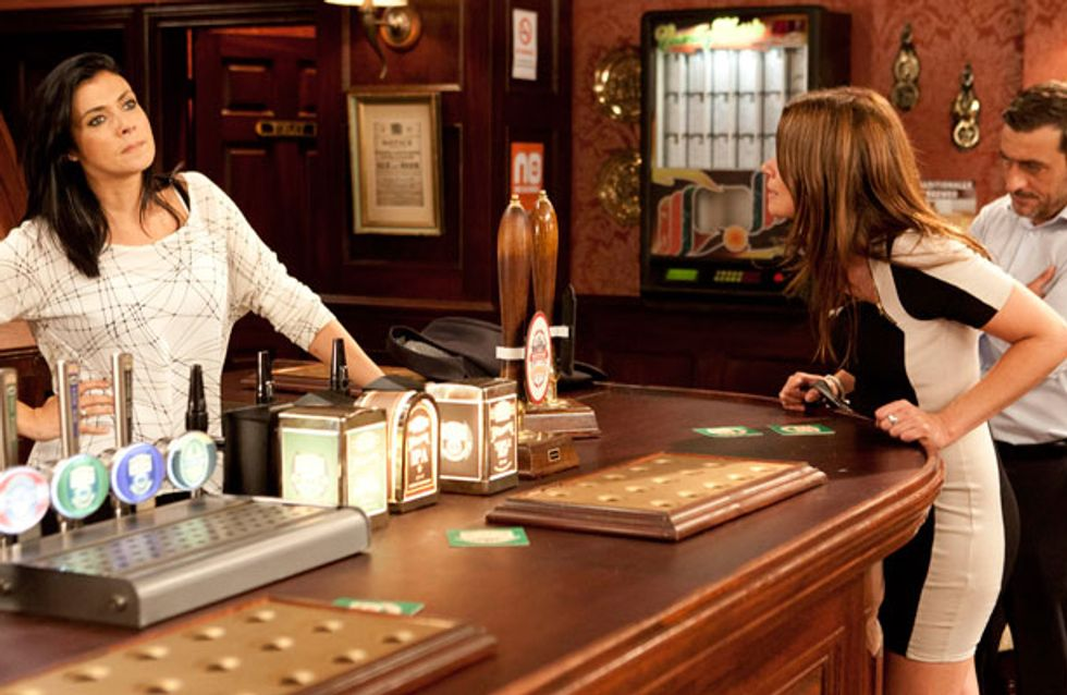 Coronation Street 27/09 - Carla falls out with Michelle