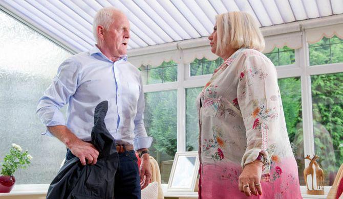 Pollard pays Joanie a visit
