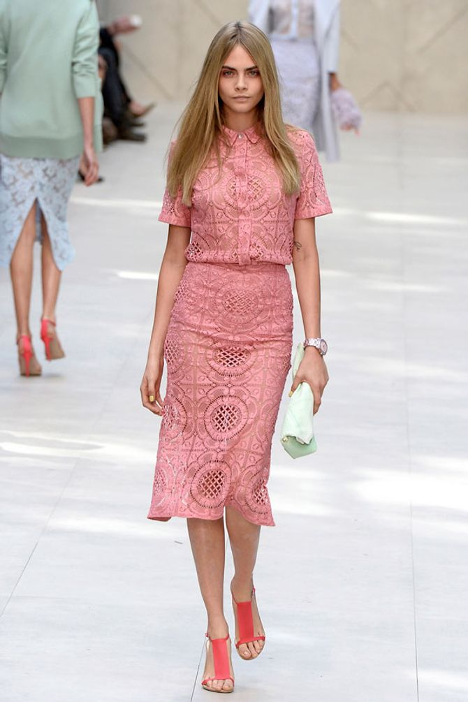 London Fashion Week: Burberry Prorsum SS14 show