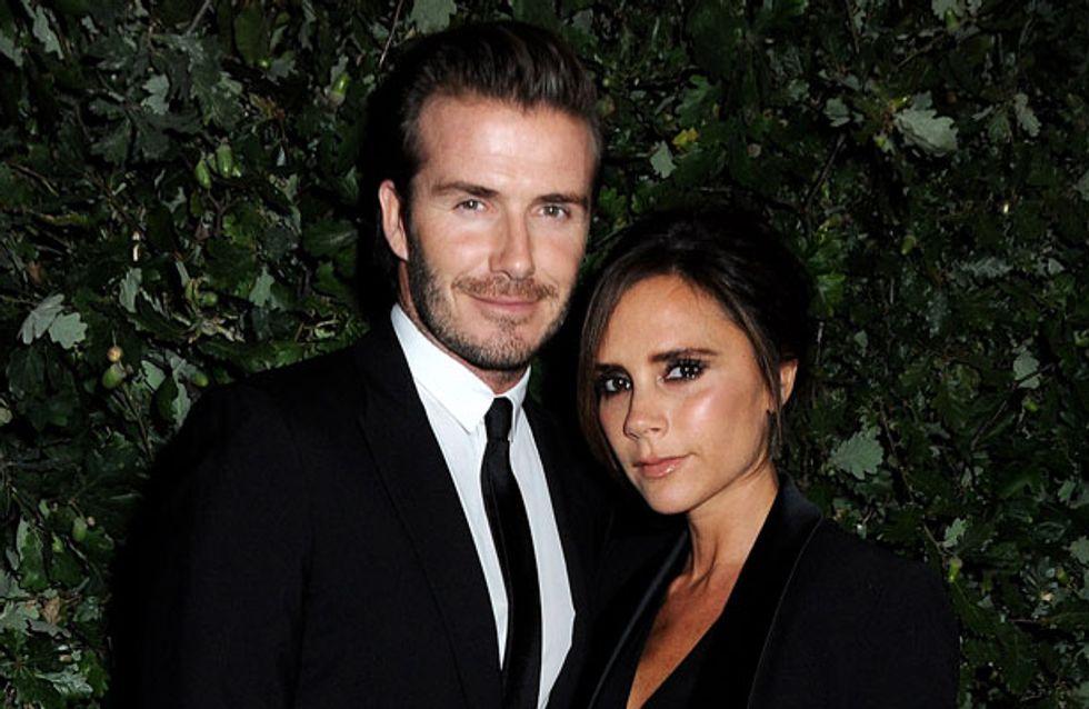 David Beckham shows off new Victoria Beckham tattoo