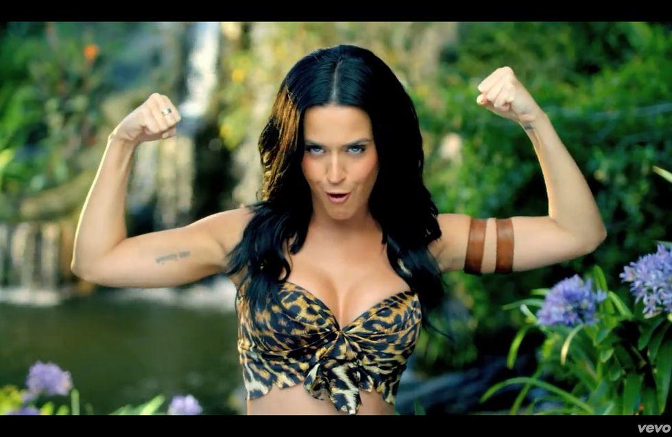 Katy Perry : La PETA s'en prend à son clip Roar