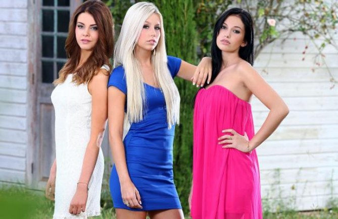 Jade, Coralie et Laeticia, les nouvelles Belles