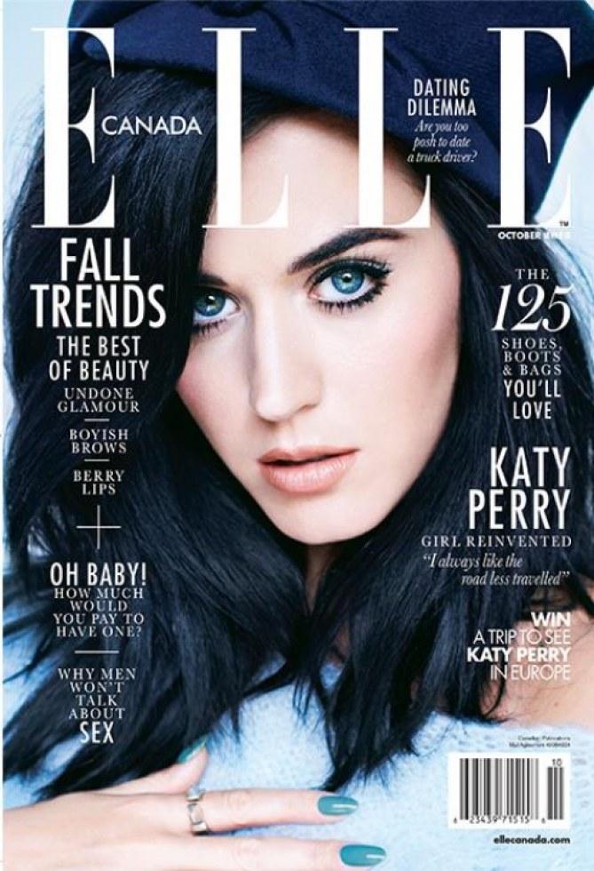 Katy Perry dans le ELLE Canada