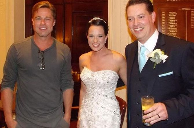 Brad Pitt, Abi et Daniel Lingwood