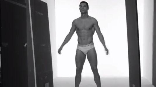 Cristiano Ronaldo pour CR7 Underwear
