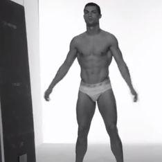 Cristiano Ronaldo : En slip pour annoncer sa ligne de sous-vêtements (vidéo)
