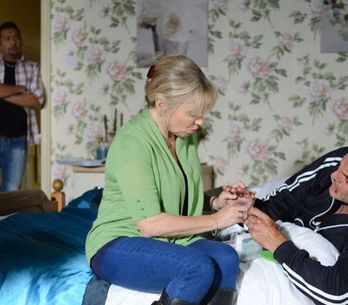 EastEnders 30/09 - David's trying to come between Carol and Masood