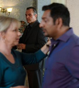 EastEnders 03/10 - Masood throws Carol a birthday party